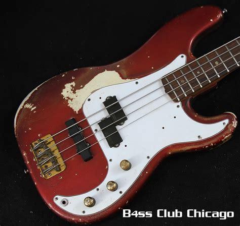 Fender Precission 1966 1969 fender precision bass apple pre owned