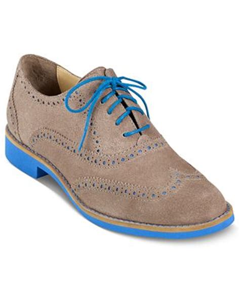 macys womens oxford shoes cole haan s alisa oxfords shoes macy s