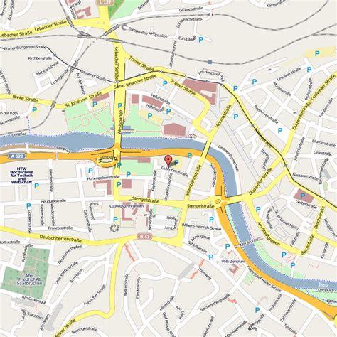 map of saarbrucken germany saarbrucken map and saarbrucken satellite image
