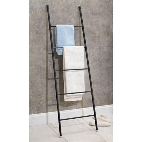 Délicieux Ikea Porte Serviette Salle De Bain #3: porte-serviettes-echelle-acier.jpg