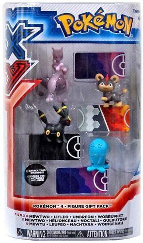 x y figures xy basic mewtwo litleo umbreon wobbuffet figure