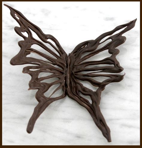 Chocolate Butterfly Decorations by The Chocolate Addict S Chocolate Decorating A Roo