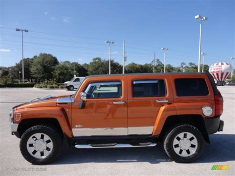 2007 desert orange metallic hummer h3 x 55956918 photo 2 gtcarlot car color galleries