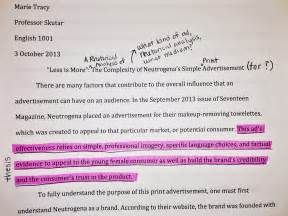 advertisements analysis essay writing a rhetorical analysis of a print ad the mmm chronicles