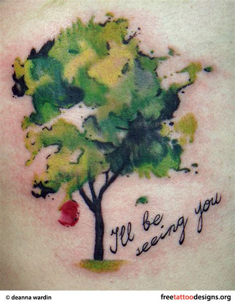 apple tree tattoo designs tree tattoos palm tree of pine tree