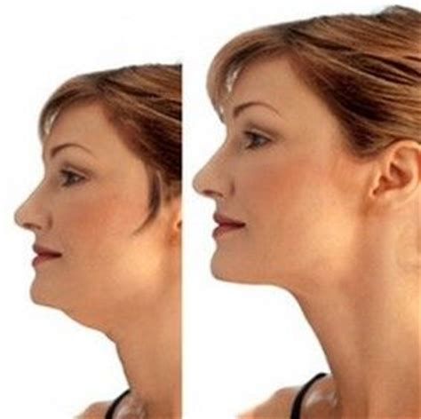 how to make a double chin look less noticable eith hair make up tricks for double chin looks more like photoshop
