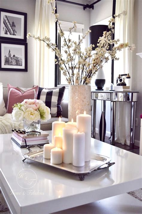 coffee table decoration best 25 coffee table arrangements ideas on