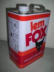 Lem Fox Kuning 1kg toko bangunan maju jaya surabaya jual lem fox kuning lem putih rajawali
