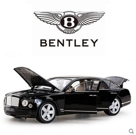 bentley worldwide packaging rastar bentley mulsanne glossy black color 1 18 new