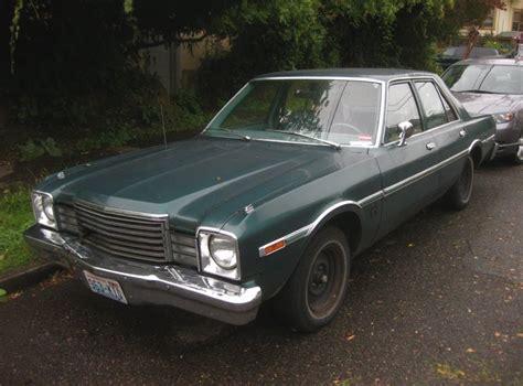 1978 dodge aspen parked cars 1978 dodge aspen sedan