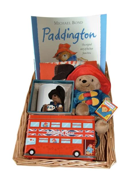 paddington little library paddington bear story time gift basket