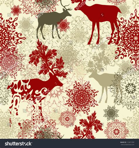 retro christmas pattern vector free retro christmas pattern seamless christmas background