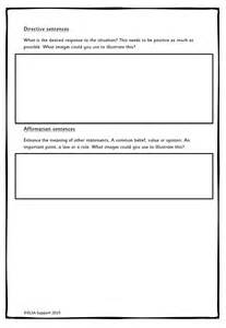 Social Story Templates social story template elsa support