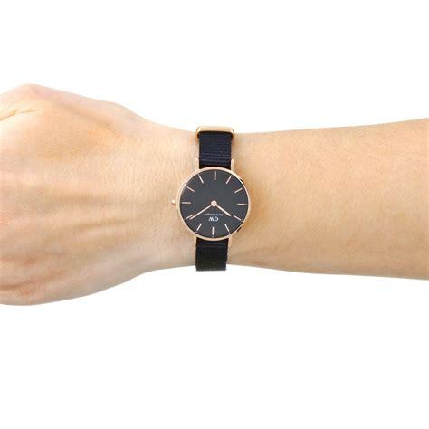 Daniel Wellington Cornwall femmes daniel wellington 28 cornwall noir montre