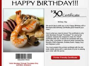 benihana birthday gift card benihana birthday coupon 2017 2018 best cars reviews