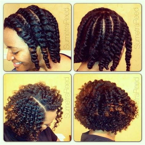 flat twist marley hair love her flat twist out great definition natural