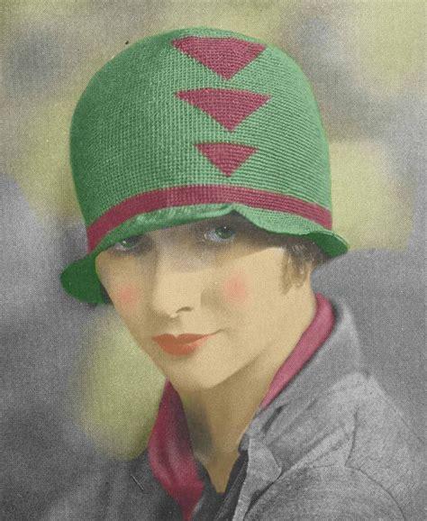 pattern for vintage hats vintage 1920 s flapper crochet cloche hat pattern 5