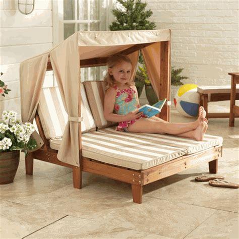 childrens outdoor lounge furniture kidkraft chaise lounger lounge chair