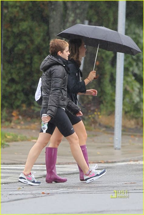 emma watson exercise emma watson rainy workout harry potter photo 16116619