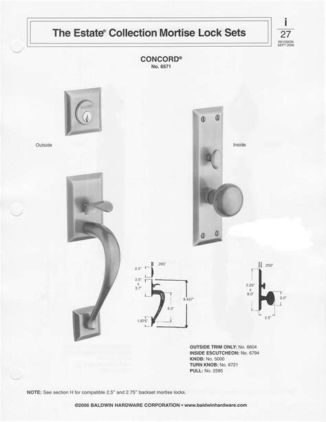 baldwin mortise lock diagram baldwin mortise lock baldwin lock diagrams images lock