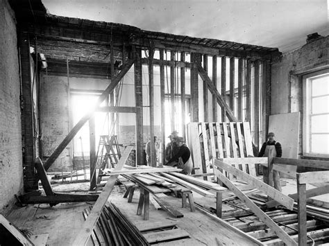 renovate houses file bedroom and sitting room of the white house during the renovation 02 27 1950 jpg