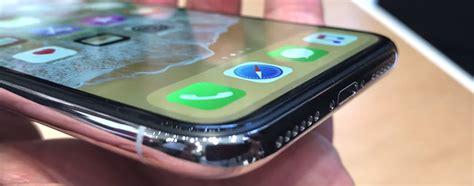 Iphone X Rahmen Kratzer Polieren by Erste Hands On Videos Von Apples Neuem Iphone X Iphone