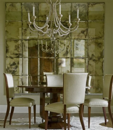 mirror dining room opening up your interiors with inspiring mirrors