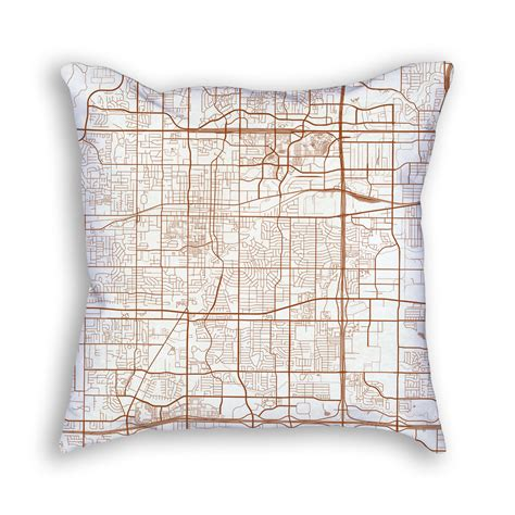 decorative art decor arlington tn arlington texas throw pillow city map decor