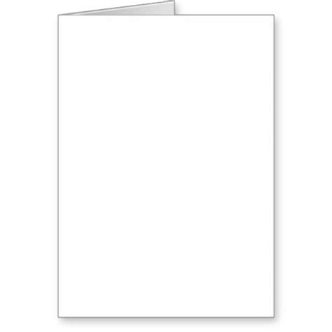Free Printable Blank Greeting Card Templates best photos of printable blank card template thank you