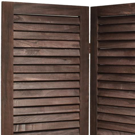 Wooden Slat Blinds by Wooden Slat Room Divider Privacy Screen Partition Blind