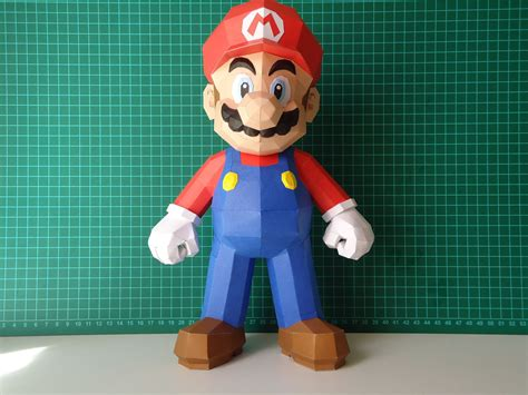 3d Model To Papercraft - mario model paperbotz