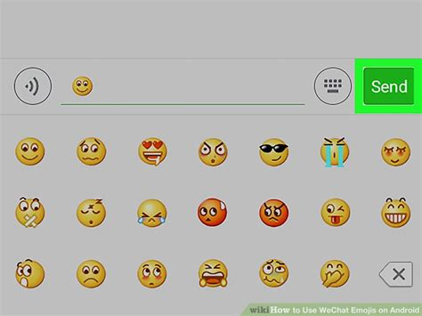how to turn on emojis on android how to use wechat emojis on android 7 steps with pictures