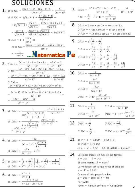matemticas 2 bachillerato c 193 lculo de derivadas ejercicios resueltos matematicas 2 bachillerato pdf