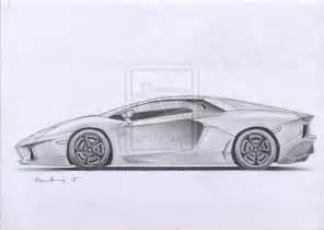 lamborghini aventador sketch by bambangtetuko on deviantart