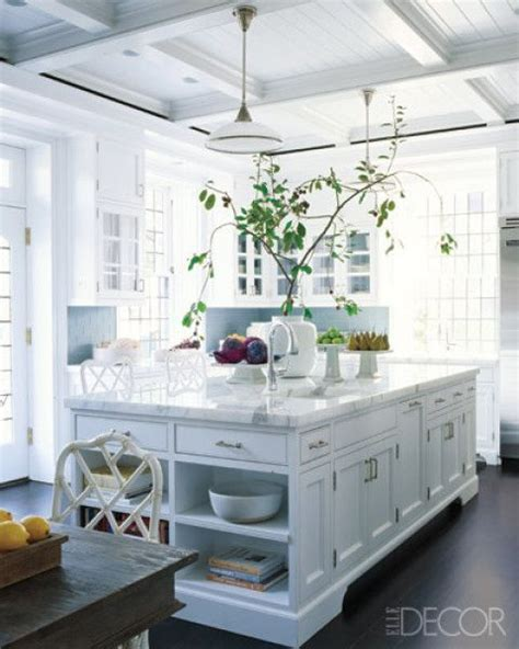 Beautiful White Kitchens   DIY Decorator