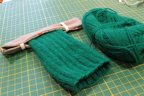 dpns knitting sock project keeper or the dpn hugger the c side