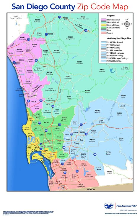 san diego county map san diego county zip code map adriftskateshop