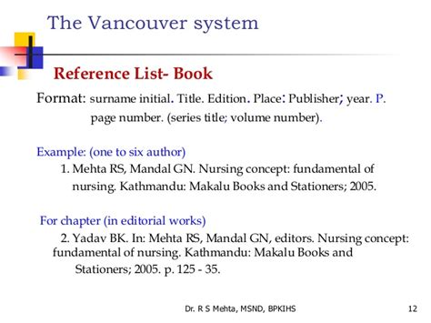 reference list book edition 6 referencing styles