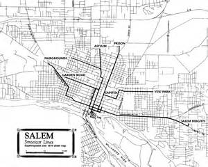 map of salem oregon salem streetcar system