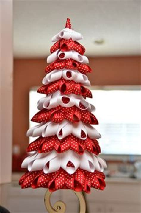 1000 images about ribbon christmas tree on pinterest