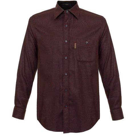 Wool Pendleton pendleton shirts trail burgundy wool shirt