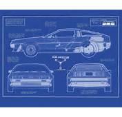 Home Images Delorean Dmc 12 Blueprint