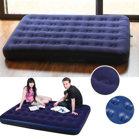 blow up pull out couch outdoor bedroom blue ultra double daybed lounger airbed