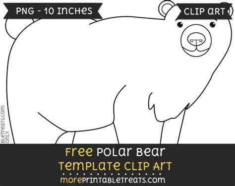 polar template polar template clipart