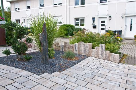 garten gestalten ideen günstig einzigartig gartengestaltung am hang mit steinen design