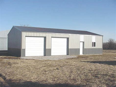 How Much Does A Steel Garage Cost by How Much Would It Cost To Build A 24x24 Metal Shop In San