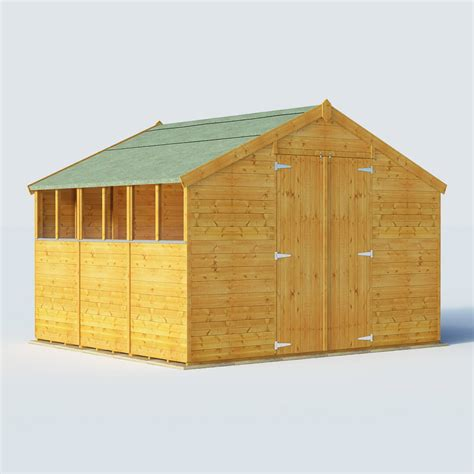 The Range Sheds by Billyoh 9 X 10 Windowed Tongue And Groove Apex Garden Shed