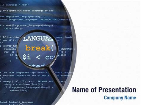 ppt templates for java c program code powerpoint templates c program
