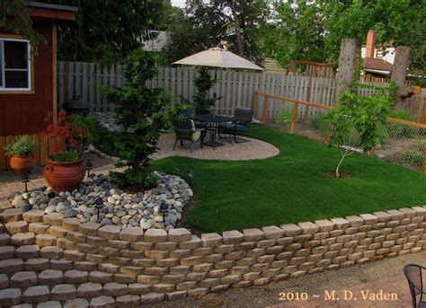 Backyard Makeover by Backyard Makeover Tried Something Different Lawn Landscape