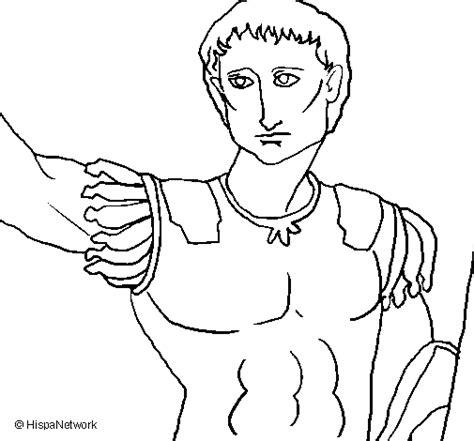 Statue Of Caesar Coloring Page Julius Caesar Coloring Pages